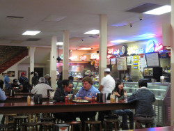 """Phillippe's French Dip Restuarant. Photo: MargaretNapier. <a href=""""https://creativecommons.org/licenses/by-nd/2.0/legalcode"""">License: creative commons, attribution, no derivatives</a>."""